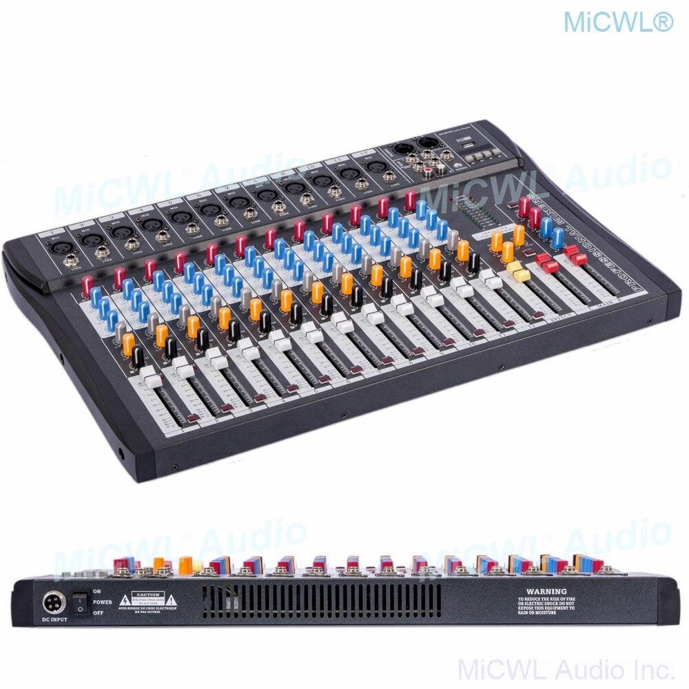 MiCWL-جهاز مزج صوت 12 قناة ، جهاز خلط لخلط الصوت وتسجيل الموسيقى ، بلوتوث ، DSP ، Phantom Power ، شاشة USB ، MP3 3 ، علامة تجارية ، تأثير EQ