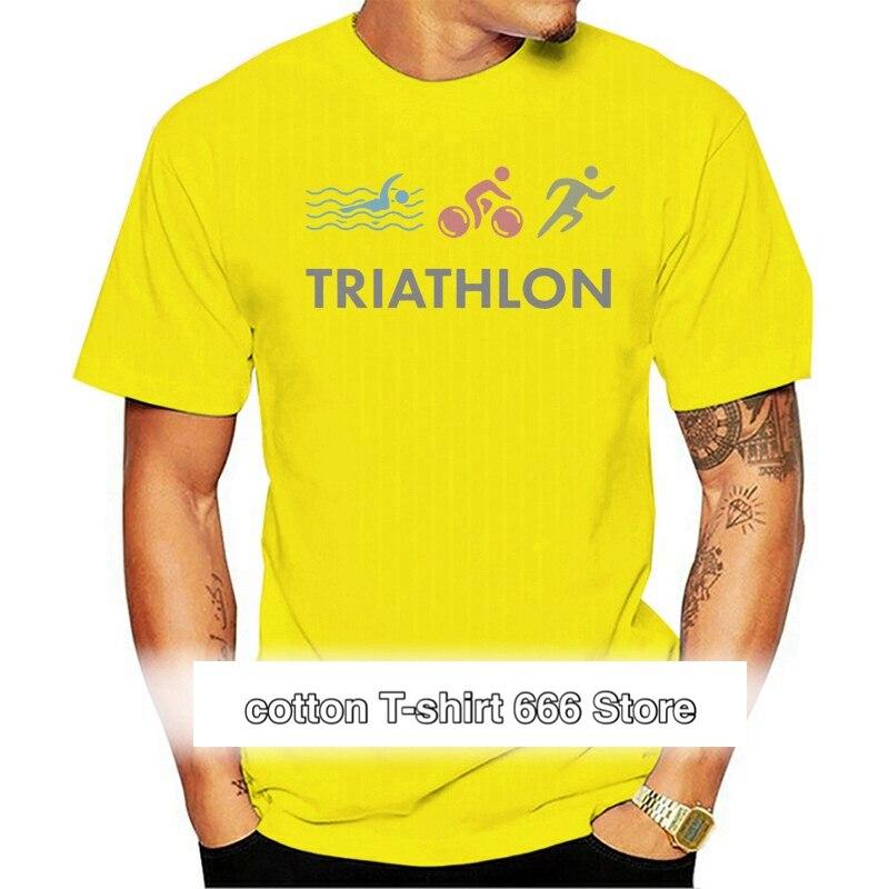 Camiseta de triatlón para hombre, camisa de manga corta con cuello redondo,...