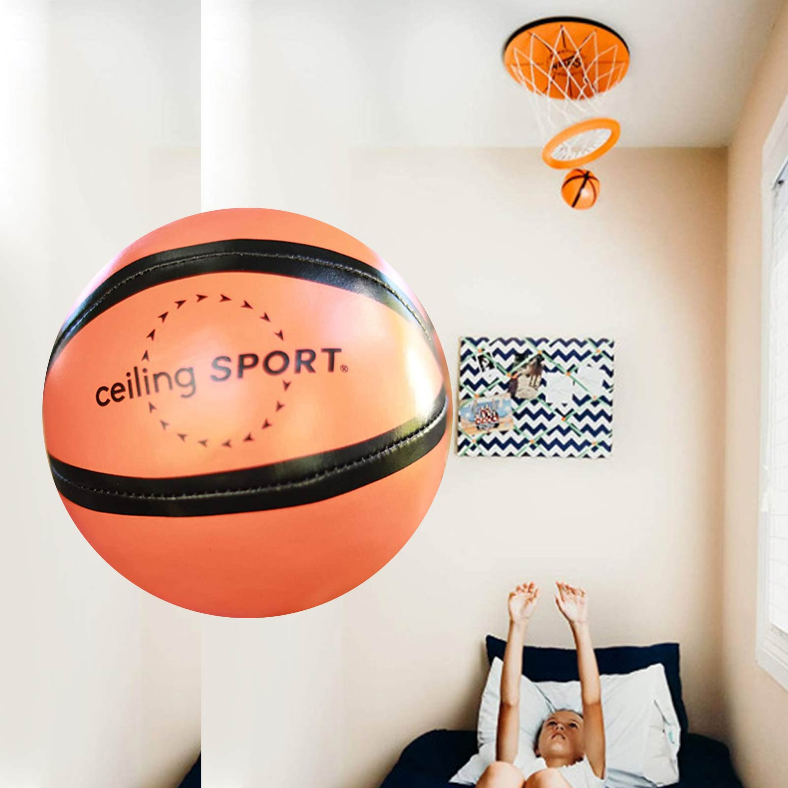 Ceiling Sports Indoor Mini Basketball Hoop Toy Suit With Mini Basketball Fun Kids Toy Indoor Home Basketball Supplies adjustable kids basketball stand hoop indoor outdoor shooting toy with metal pole