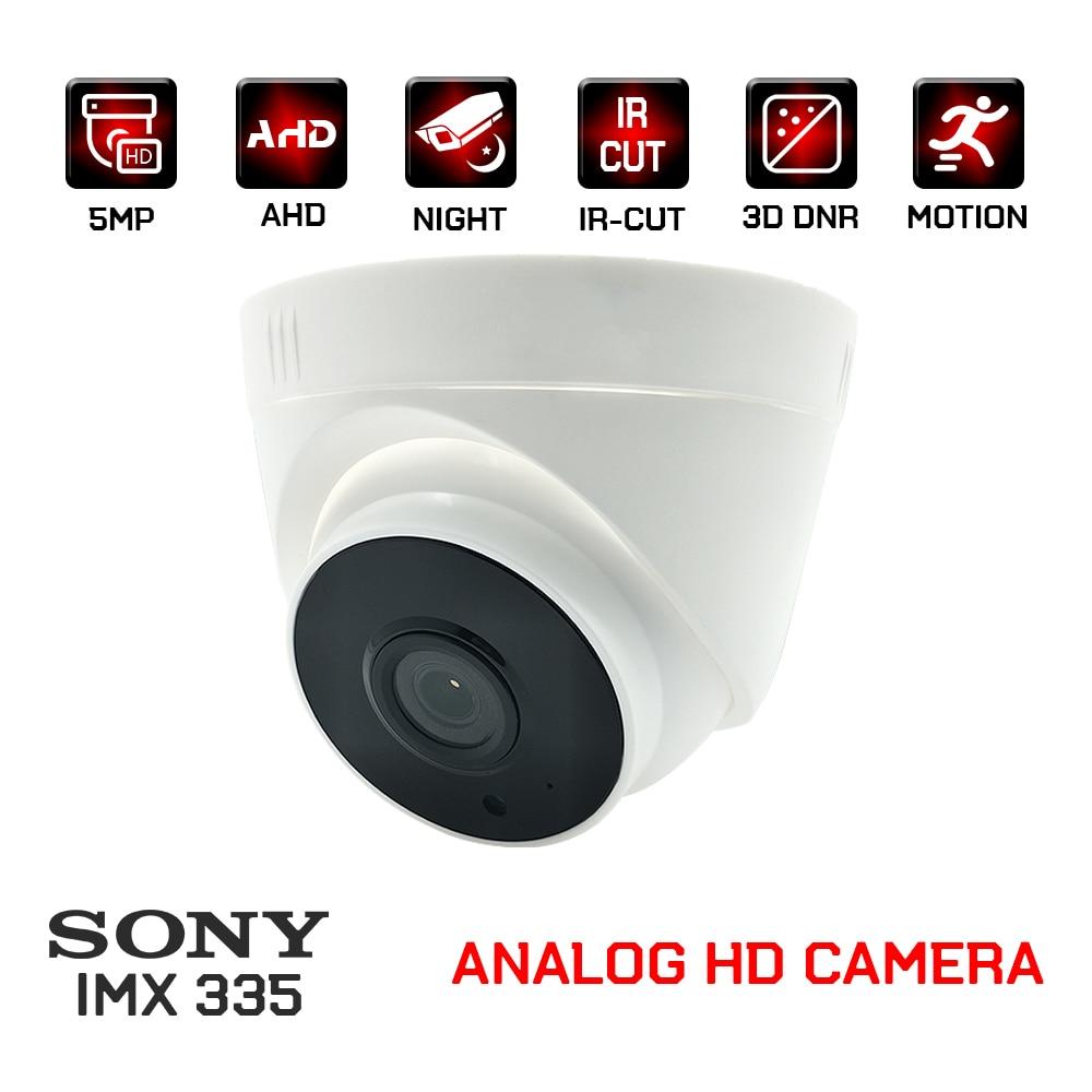 1080P SONY IMX323/335 ahd камера 2 МП 5 Мп cctv видеонаблюдения безопасности комнатные купольные аналоговые камеры для дома