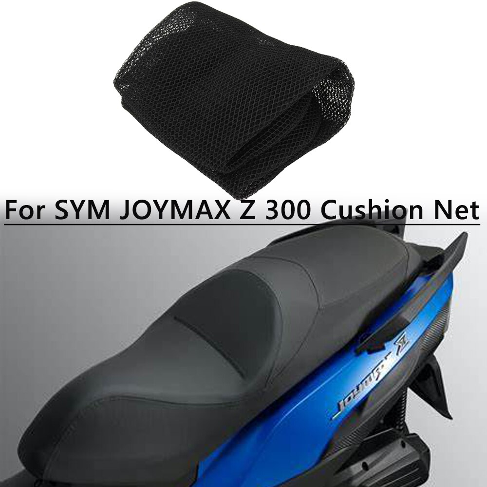 Фото - For SYM Cushion CRUISYM300 CRUISYM 150 JOYMAX Z 300 Motorcycle Seat Cushion Cover Net 3D Mesh Protector Insulation Cushion Cover z seat