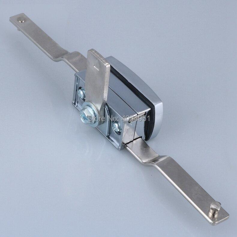 Biela fechadura da haste de distribuição porta do armário switchgear botão da porta puxar bloqueio caixa industrial ps controle caso alça