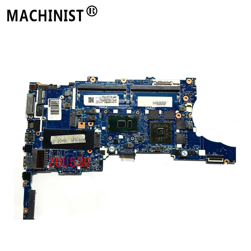 Оригинальный Для hp ZBOOK 15U G3 ноутбук материнская плата MB I7-6500U W/R7 M350 DDR4 839235-001 839235-601 6050A2728501-MB-A01