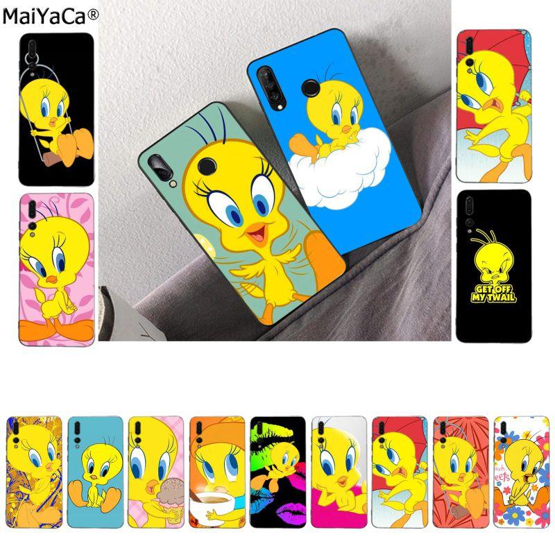 MaiYaCa dibujos animados Tweety pájaro personalizado suave fundas teléfono caso para Huawei P10 lite P20 pro P20lite P30 pro mate 20 pro mate20 lite