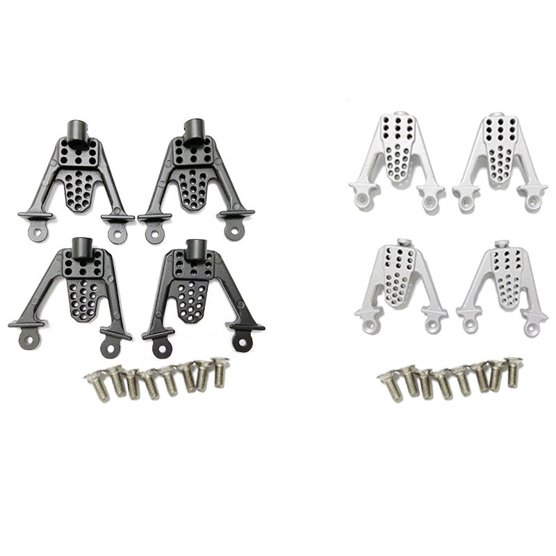 4PCS Metal Rear & Front Shock Mount LIFT Shocks for Axial SCx10 1/10 RC Crawler Shock Absorber enlarge