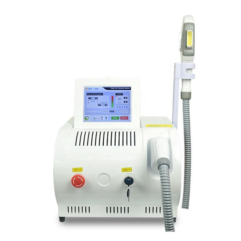 Máquina de belleza portátil IPL Shr Opt, depilación permanente, blanqueamiento y rejuvenecimiento, depilación láser