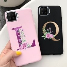 For OPPO A93 A73 Case OPPO A93 2020 Bumper Soft Silicone Letters Back Cover For OPPO A93 A 93 73 OPP