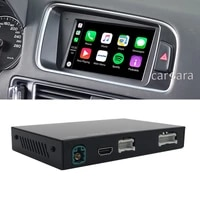 carplay android auto mirrorlink integration adapter for sq5 q5 car oem screen apple iphone car play google map spotify bluetooth