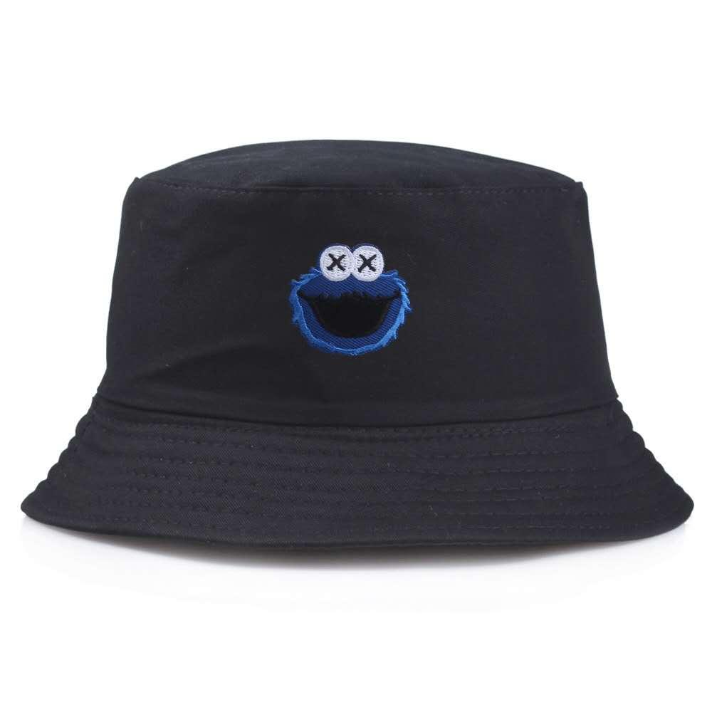 Sombrero de cubo de algodón de doble cara con patrón de dibujos de moda para hombre, sombrero de lavabo Casual para mujer salvaje, sombreros de pescador, accesorios de sombra para exteriores