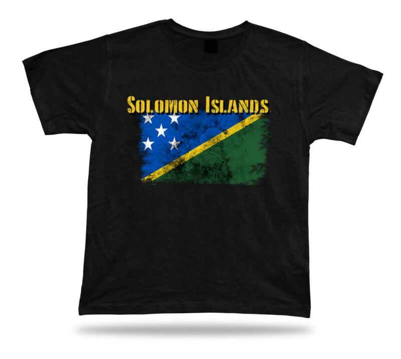 Футболка с изображением флага Соломоновых Островов, футболка с изображением города и карты кантона