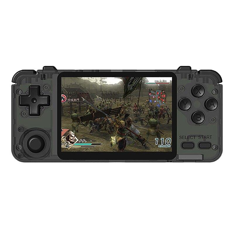 Rk2020 Retro Console 3.5 Polegada Ips Sn Ps1 N64 Portátil Handheld Game Console Jogos De Vídeo Game Player(32G)