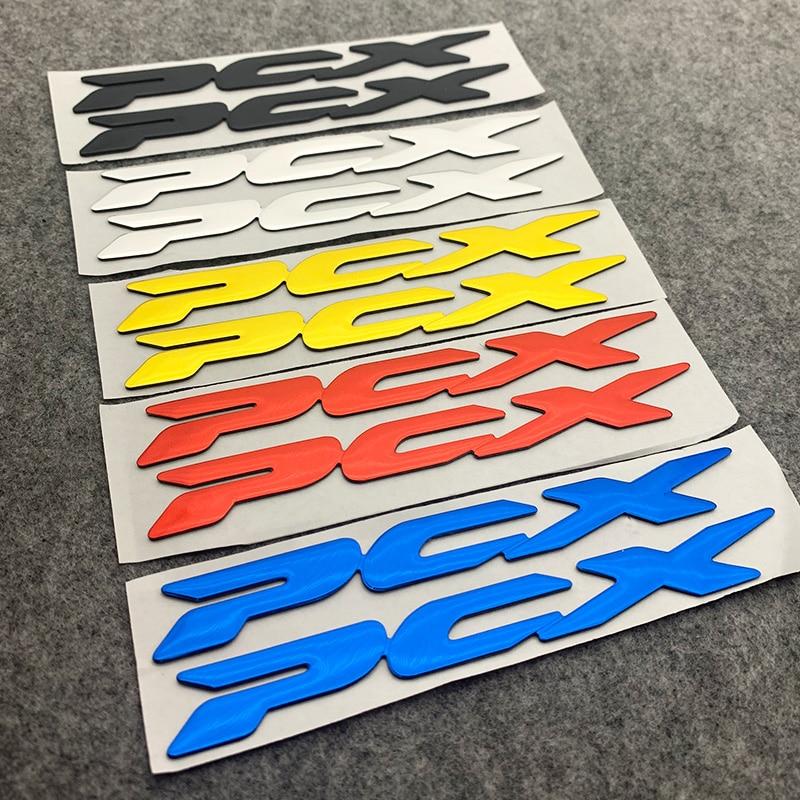 PCX رسائل شارة ملصق مائي للدراجات النارية لهوندا سيارة