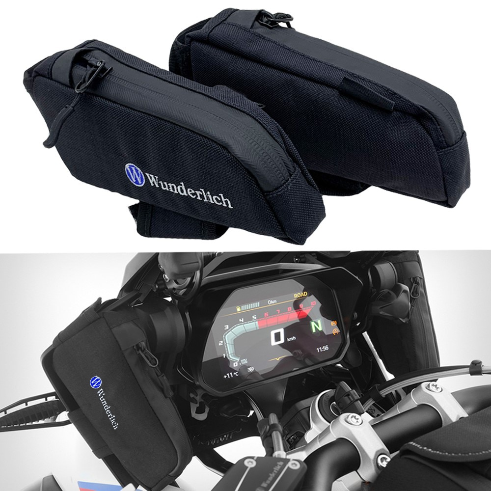 For BMW R1200GS / ADV LC 2013-2018 R1250GS 2013-2019 Windshield side fairing storage bag