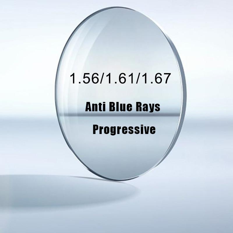 Krasivyy 1.56 1.61 1.67  (+10.00~-10.00)  Anti Blue Ray Lenses Prescription Myopia Hyperopia Progressive Lens