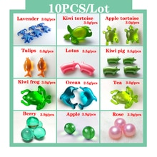 10PCS/Lot Spa Essential Oil Bath oil beads pearl bath bead Body moisturizing essential oil prevents