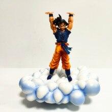 Dragon Ball Z Son Goku Mit Wolke PVC Action-figuren Modell Spielzeug Anime Dragon Ball Super Goku Geist Bombe Figurine