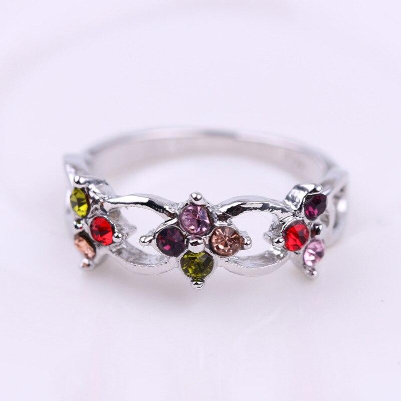 Простое изысканное кольцо с вырезами для женщин, вечерние ювелирные изделия, Подарок на годовщину