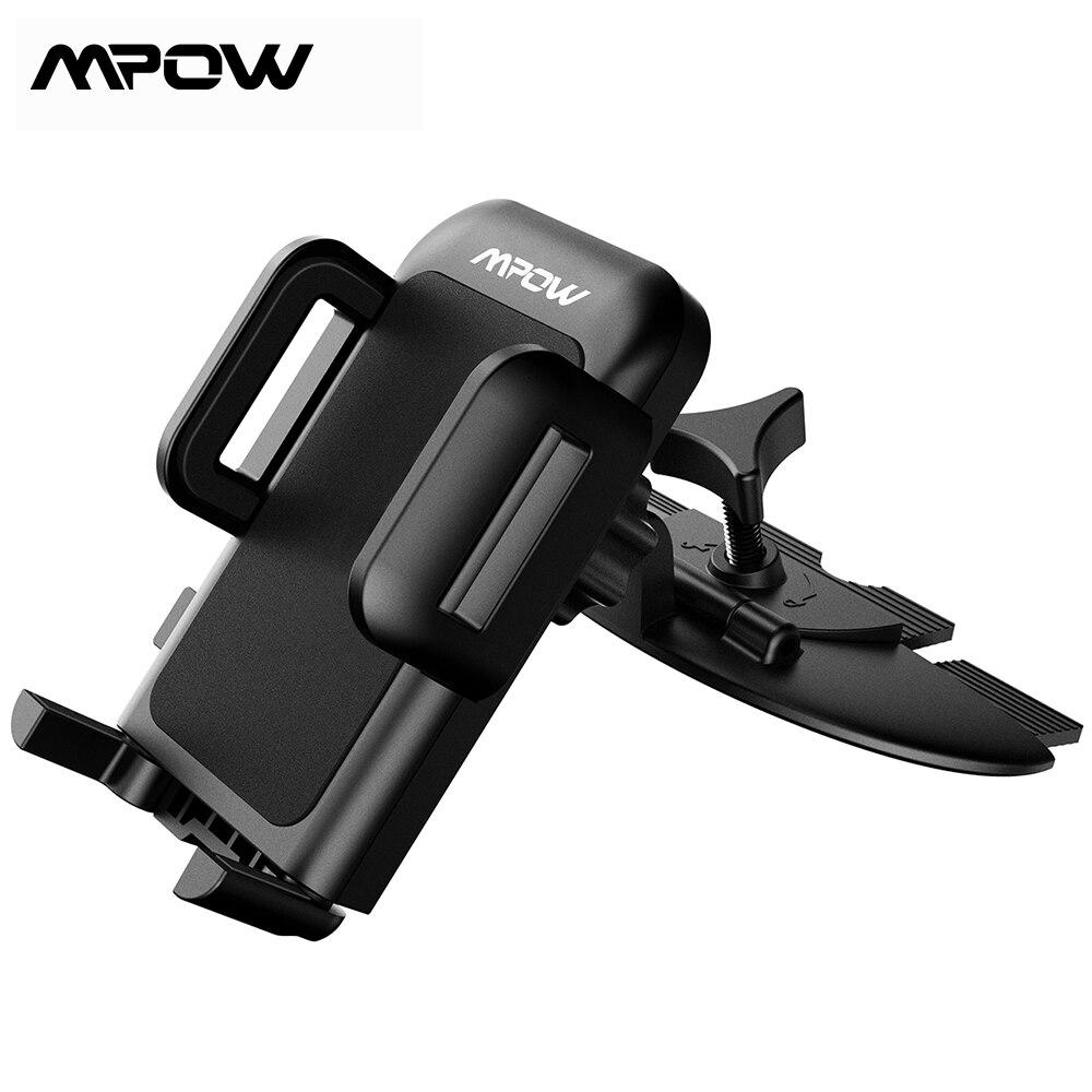 Soporte Mpow MCM3 para coche, soporte Universal de soporte para coche con ranura para CD para iPhone X, 8, 8Plus, 7, 7Plus, 6s, 6P y 5S Galaxy S5