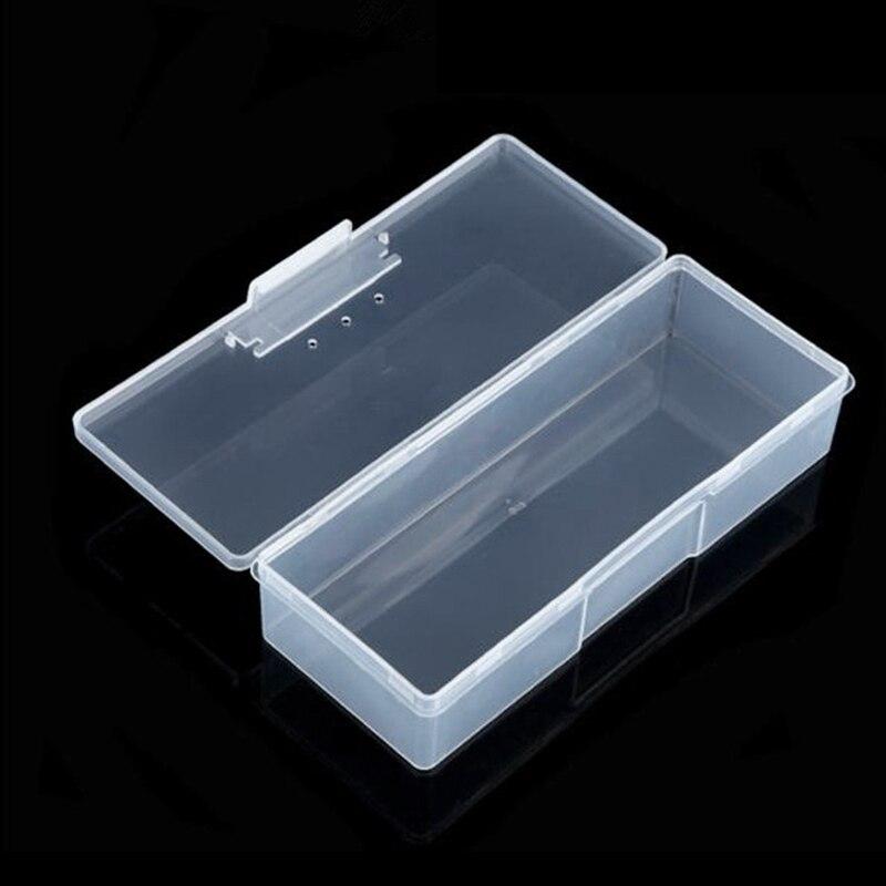 Caja de almacenamiento Rectangular para herramientas de manicura, caja de herramientas para manicura, caja de herramientas para almacenamiento, caja de herramientas para manicura, caja de almacenamiento para herramientas para manicura TSLM1