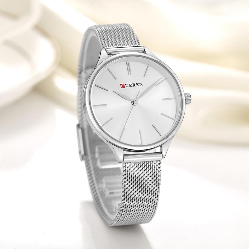 CURREN Hot Sale Saat Watches Women brand Fashion Dress Ladies Bracelet Watch Rose Gold Clock Gifts relogios feminino reloj mujer enlarge