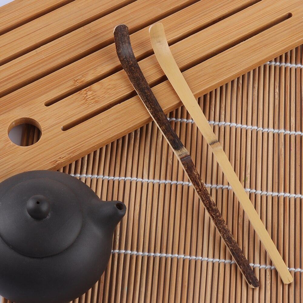 Полезная 180*10*10 мм деревянная кухонная утварь приспособление для приготовления специй чайный лист матча палочки ложка чайная посуда черный бамбук кухонный инструмент