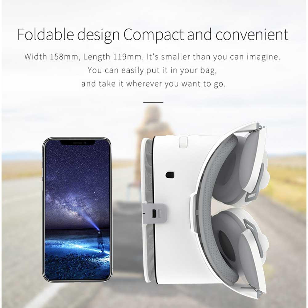 BOBOVR Z6 3D VR Headset Helmet Bluetooth Virtual Reality Glasses Google Cardboard For Smartphones Goggles Viar Binoculars enlarge