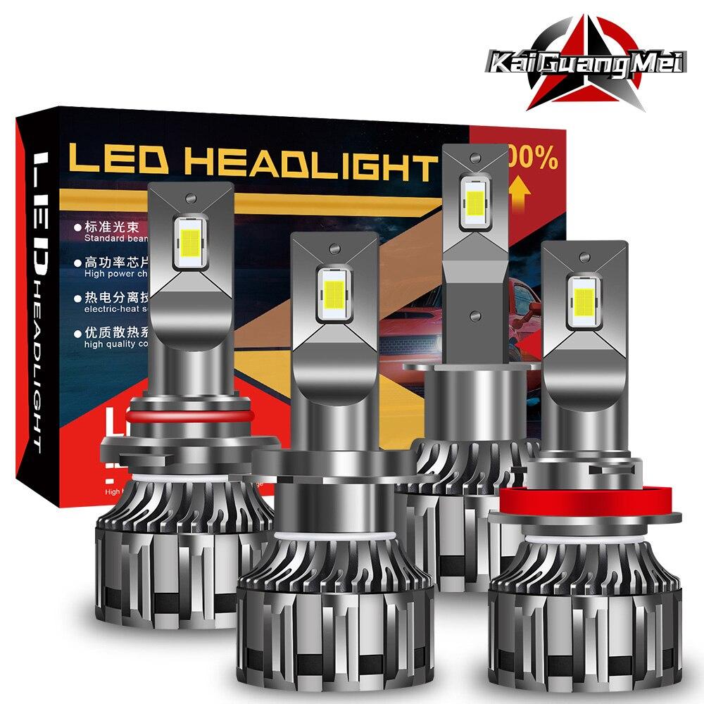 2 × H1 H7 H4 Автомобильные фары 12 светодиодов H3 H8 H9 H11 HB3 9005 HB4 9006 9012 6000K лм Canbus автомобильные фары противотумансветильник фары 12 в белый