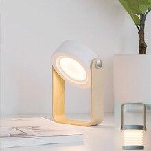 Led veilleuse lanterne lampe créative pliante télescopique lampe portable lampe de bureau usb chevet table lampe nouveau étrange