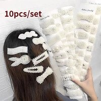 310 pcs set pearl headwear hair accessories hairpins women girls barrettes gift jewelry new hair clip hairclips for girls