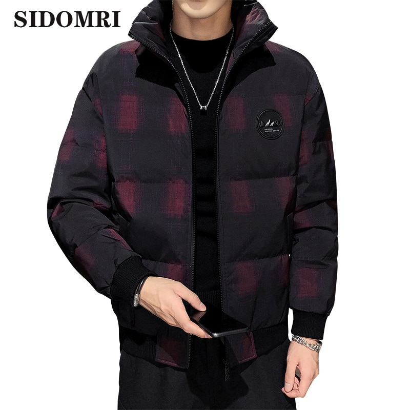 Men's down jacket 90% white duck down coats new short handsome trend thickened warm winter casual coat