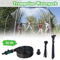 trampoline sprinklers for kids trampoline spray hose water park fun summer outdoor water game toys for boys girls garden sprinkl