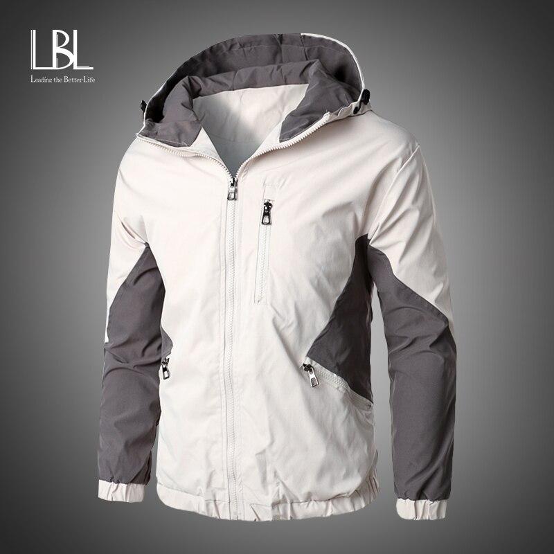 Blouson coupe-vent dautomne pour homme, Streetwear, blouson aviateur homme, vestes et manteaux de Baseball, grande taille 2020