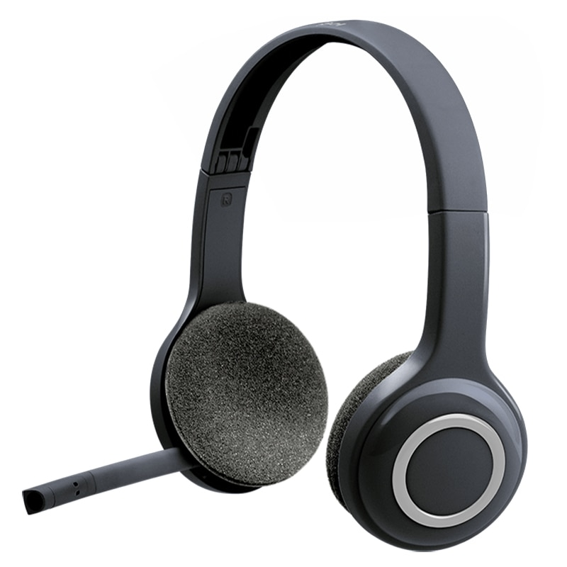 Logitech H600 Wireless Headset for Computers Via USB Receiver enlarge