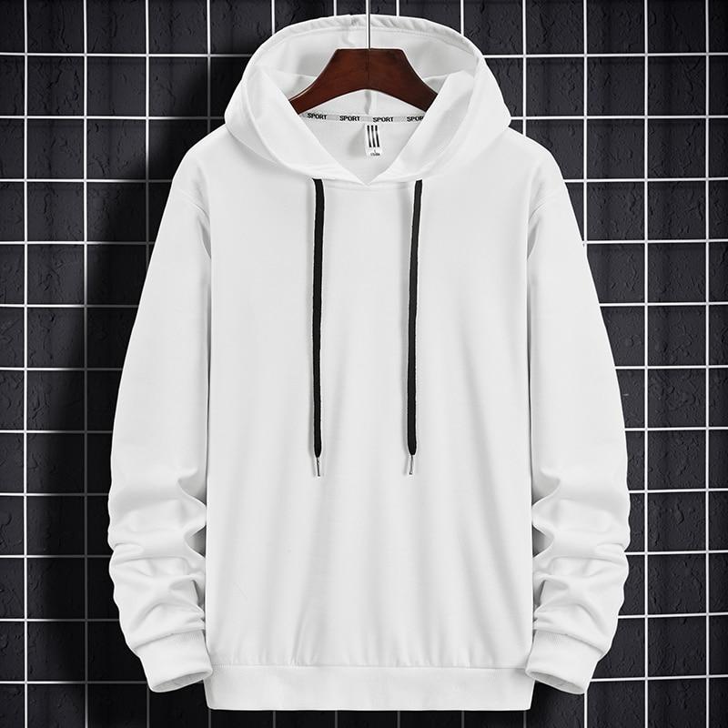 Mit kapuze 2020 Frühling Hoodies Sweatshirts Männer Brief Hoody Schwarz Hoodies Fleece Pullover Streetwear Männlichen Casual Hip Hop Boy Top