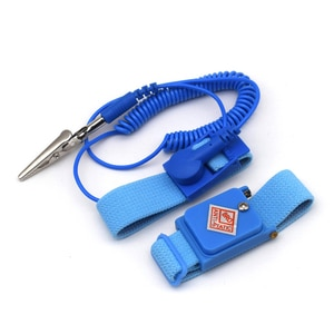 Anti-static Bracelet Electrostatic Self Defense ESD Discharge Reusable Wrist Strap Hand with Grounding Wire Welding Work Gloves