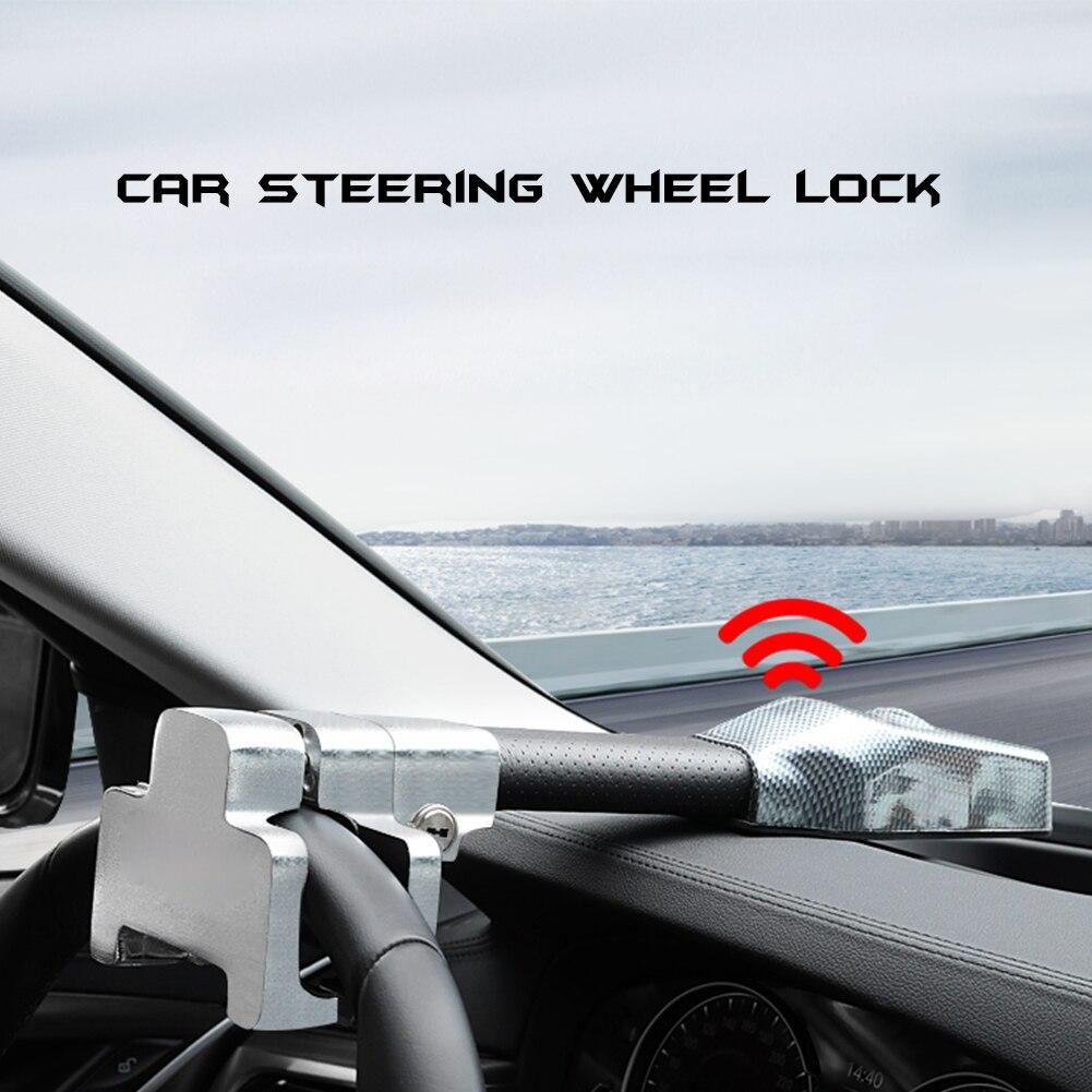 قفل أمان عالمي لعجلة القيادة ، قفل أمان للسيارة ، مضاد للسرقة ، قابل للسحب ، حماية ضد السرقة ، أقفال T