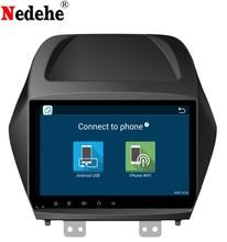Nedehe 2G RAM 9 بوصة رباعية النواة أندرويد 8.1 سيارة راديو ستيريو لشركة هيونداي IX35 توكسون 2009 2010 2011 2012 مشغل أسطوانات للسيارة لتحديد المواقع مشغل الصوت