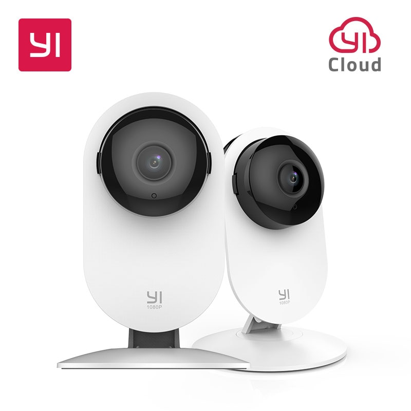 Yi 1080 P Thuis Camera Indoor Security Camera Surveillance Systeem Met Nachtzicht Voor Thuis/Kantoor/Baby/nanny/Huisdier Monitor Wit