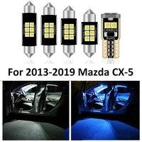 9pcs white canbus led car interior lights package kit for 2013 2014 2015 2016 2017 2018 2019 mazda cx 5 cx5 interior lights lamp