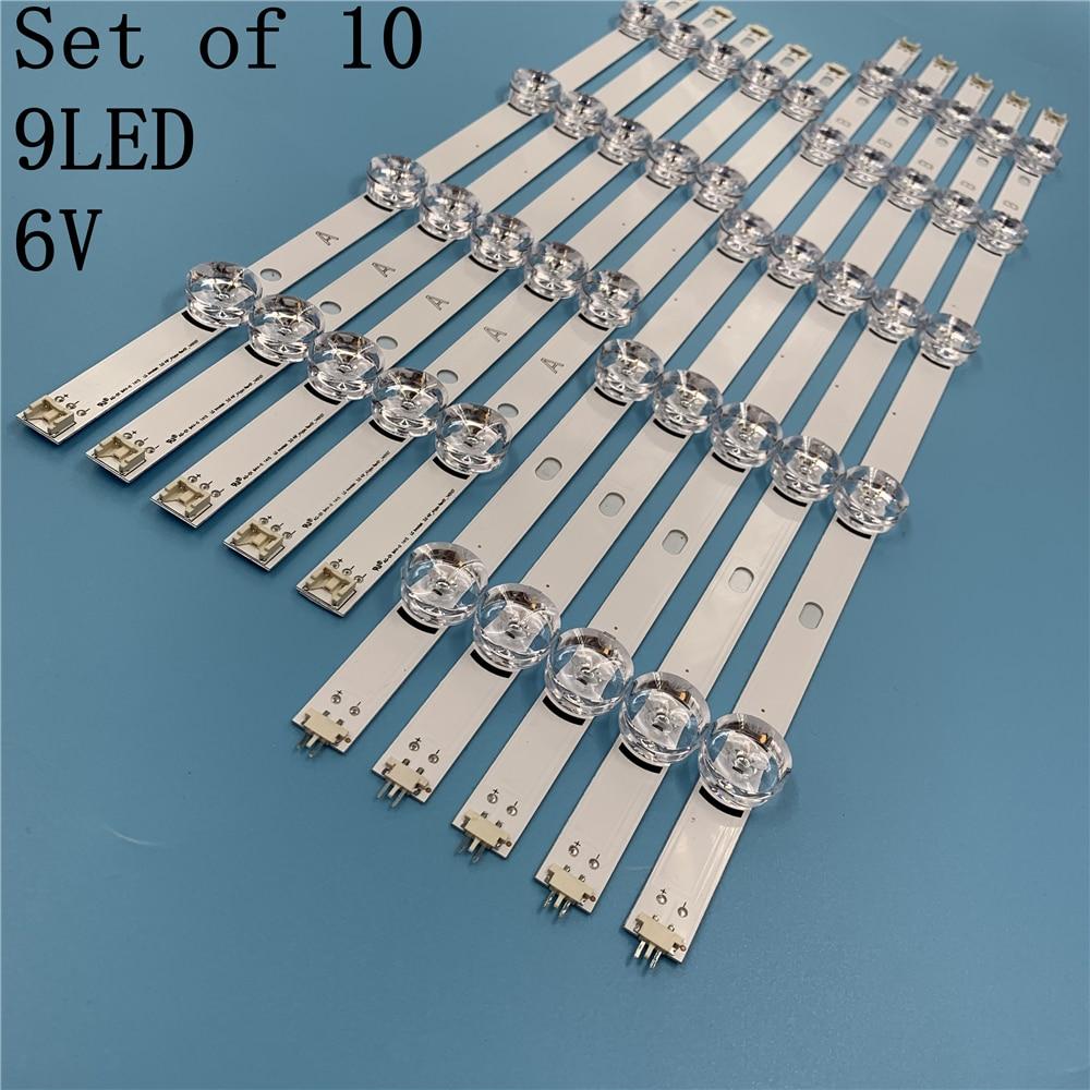 جديد 10 قطعة/المجموعة LED قطاع بديل لـ LG 49LB580V 49LB5500 Innotek DRT 3.0 49 Ab 6916L-1788A 6916L-1789A 6916L-1944A 1945A