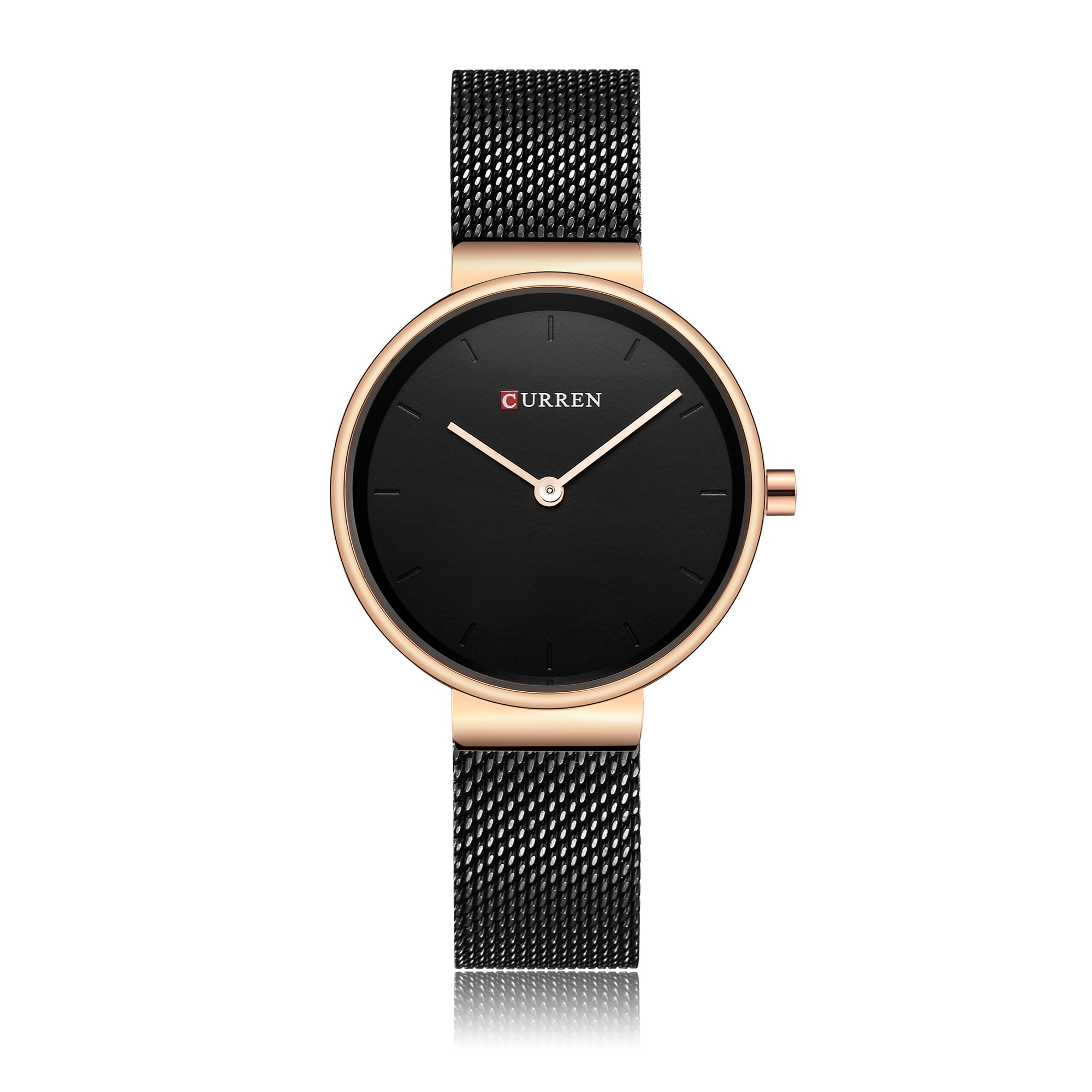CURREN Woman's Watch Newest Luxury Design Ladies Watches Quartz Wrist Watches Minimalist Waterproof Slim Zegarek Damski Outdoor enlarge