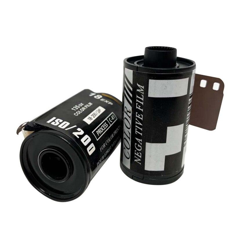 Beginnende Praktijk Film 35Mm Camera Iso SO200 Type-135 Kleur Film Voor Beginners 18/12/8 Stuks Roll film Фильм Película