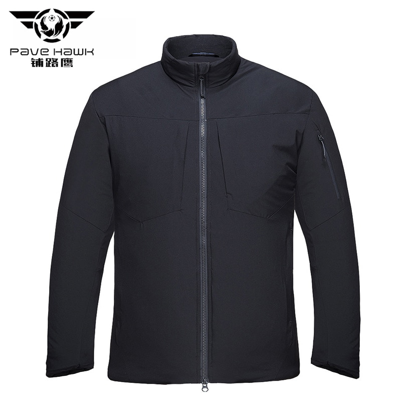 PAVEHAWK-معطف شتوي, معطف باركا مقاوم للماء ، سترة شتوية ، جيوب خفيفة ، سترة تكتيكية ، ملابس خارجية غير رسمية ، معطف تدفئة ثلج عسكري