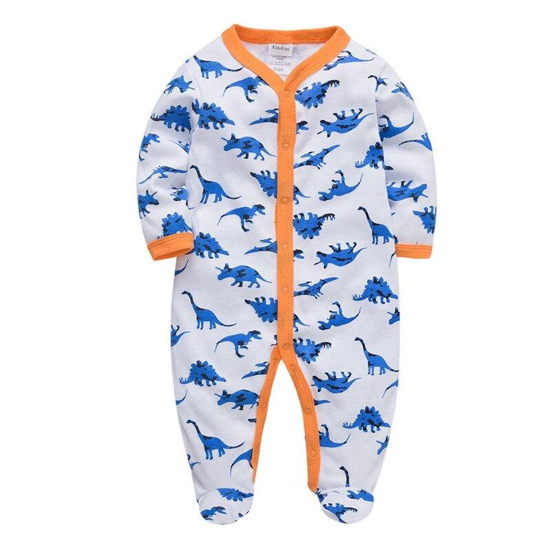 SAILEROAD-pyjama de dinosaure pour bébés   Pyjama de dessin animé 0-12M, pyjamas pour bébés, vêtements pour nourrissons, nouveau-né, pied, Pijama, en coton