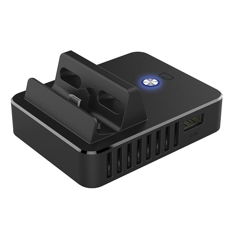 Lade Dock Station für Nintendo Schalter HDMI Video Converter Basis Schalter Tragbare TV Basis Konverter