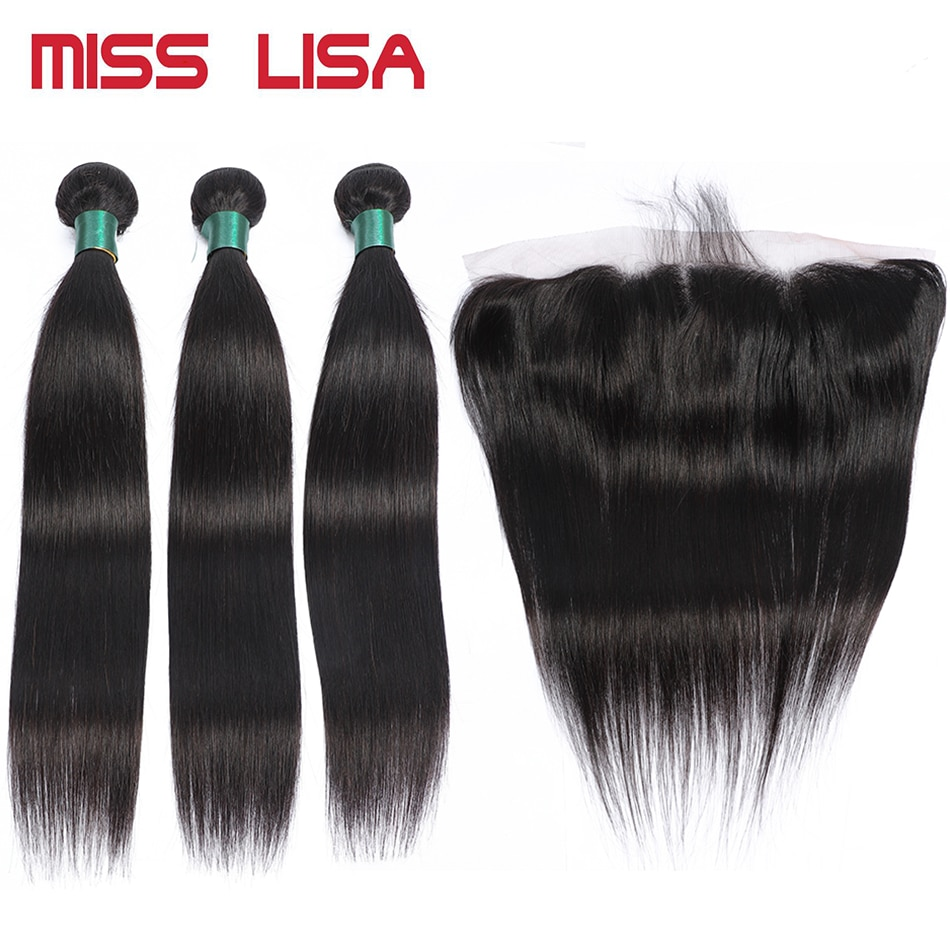 MISS LISA-وصلات شعر برازيلية غير ريمي ، شعر طبيعي ، مفرود ، 13 × 4