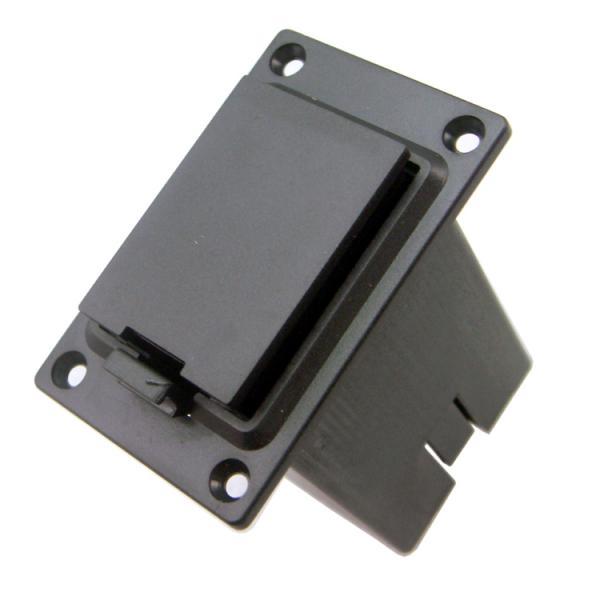 Housse de support de la boîte de batterie de guitare 9V pour la plupart des basses de guitare électrique sans Terminal