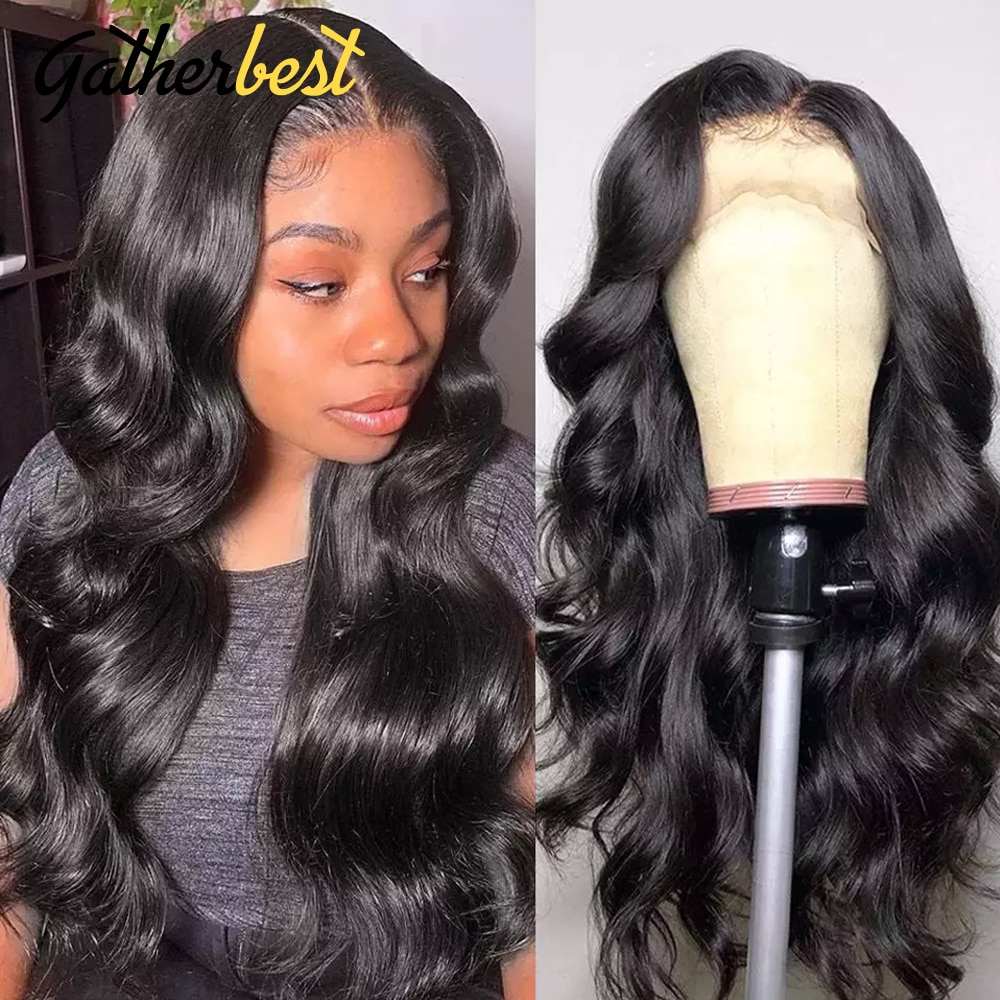 30 Inch Body Wave Lace Front Wig Body Wave Lace Front Wigs for Black Women Pre plucked Brazilian Hair body Wave Wig 150% density