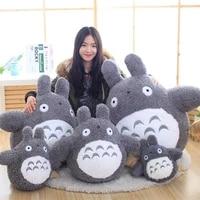 20 60cm 1pc kawaii japanese style anime cat stuffed animal doll cute totoro pillow cushion plush toys kids birthday xmas gifts