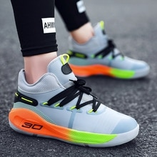 Couple Basketball Shoes Breathable Outdoor Men's Sports Shoes Lightweight Sports Shoes Women's Comfo